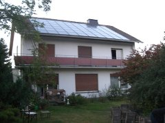 our battery of solar panels